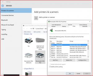 Set the printer port to Print to File to create PRNs